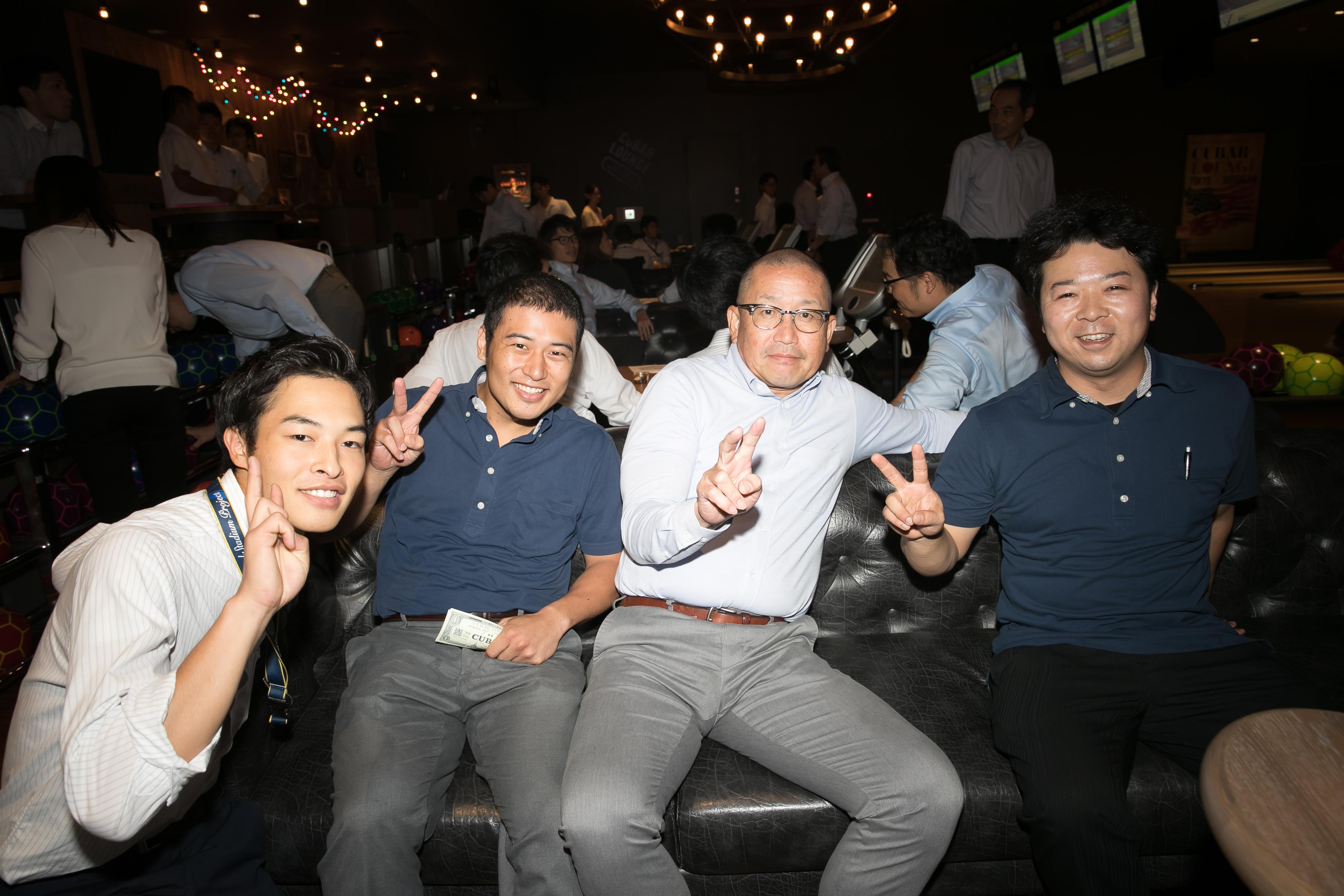ボウリング大会 東京ドームボウリングセンター 2018年09月21日