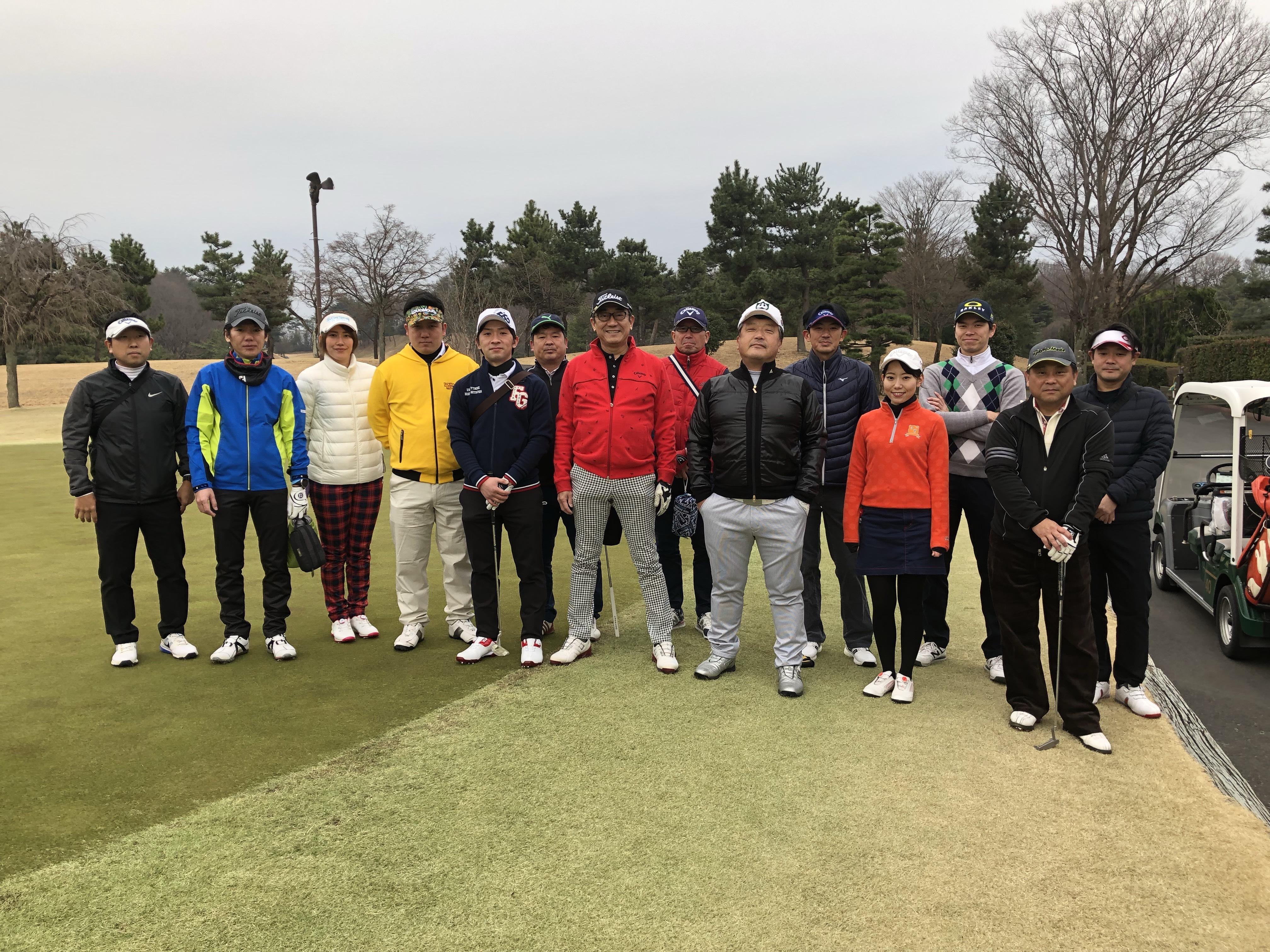 春秋会 こだまゴルフクラブ 2019年03月03日